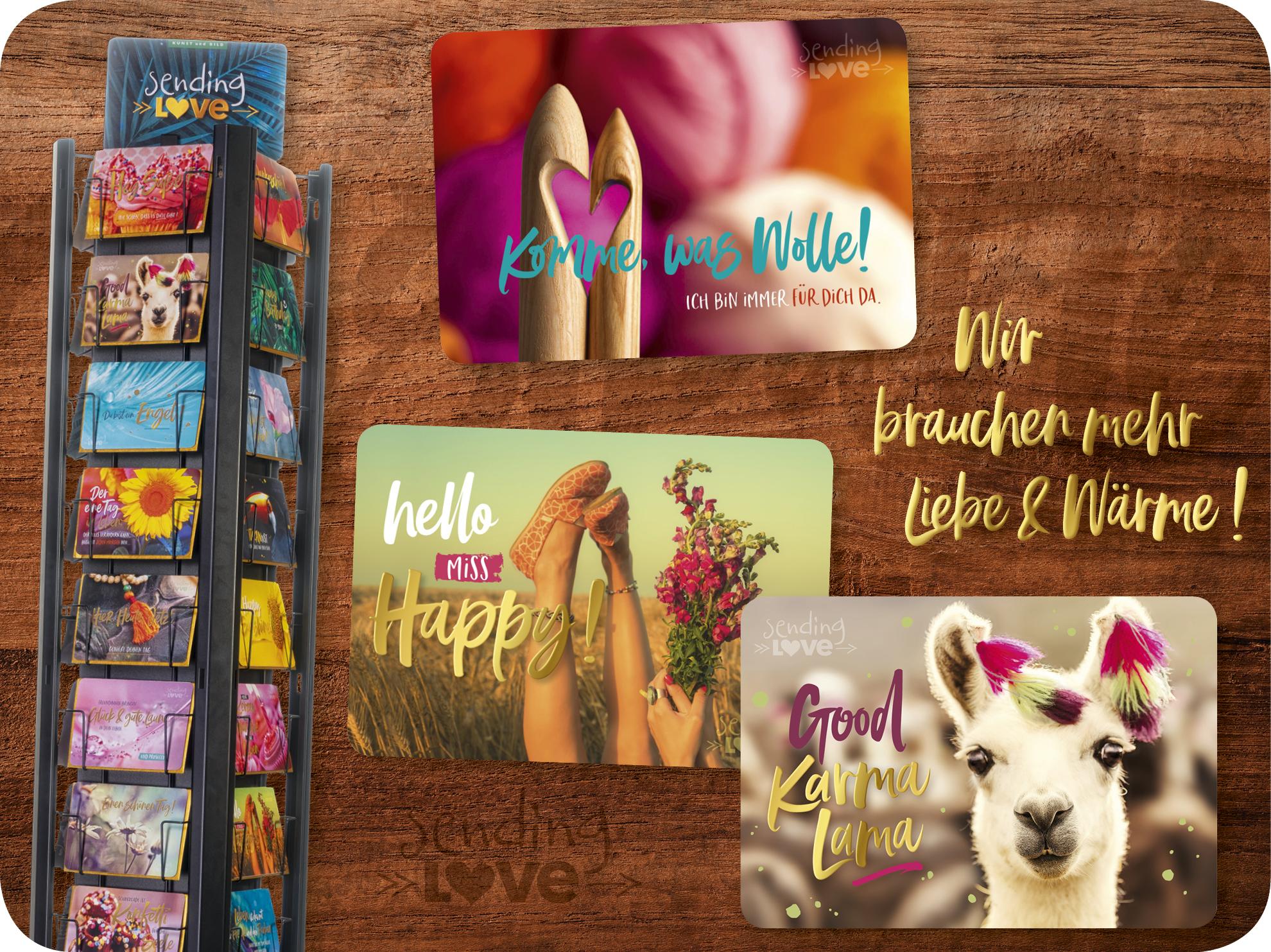 Kunst Und Bild Produktion Von Postkarten Kalendern Und